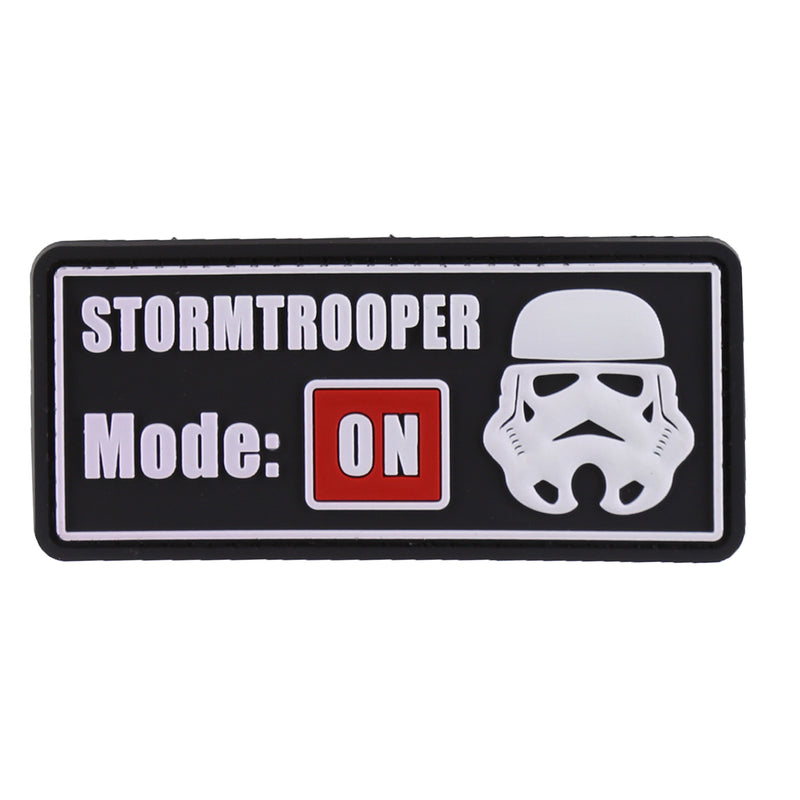 DDT Stormtrooper Mode On PVC Morale Patch