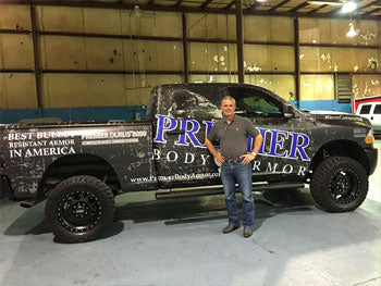 Look for the new Premier Body Armor vehicle!