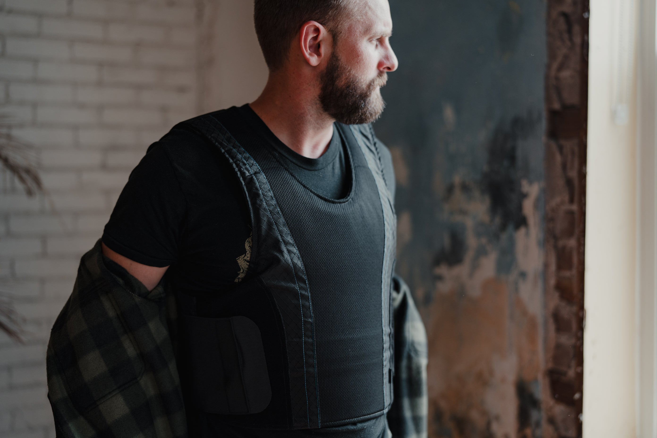 The concealable armor vest by premier body armor.  The most comfortable level IIIA vest on the market.  100% made in the usa