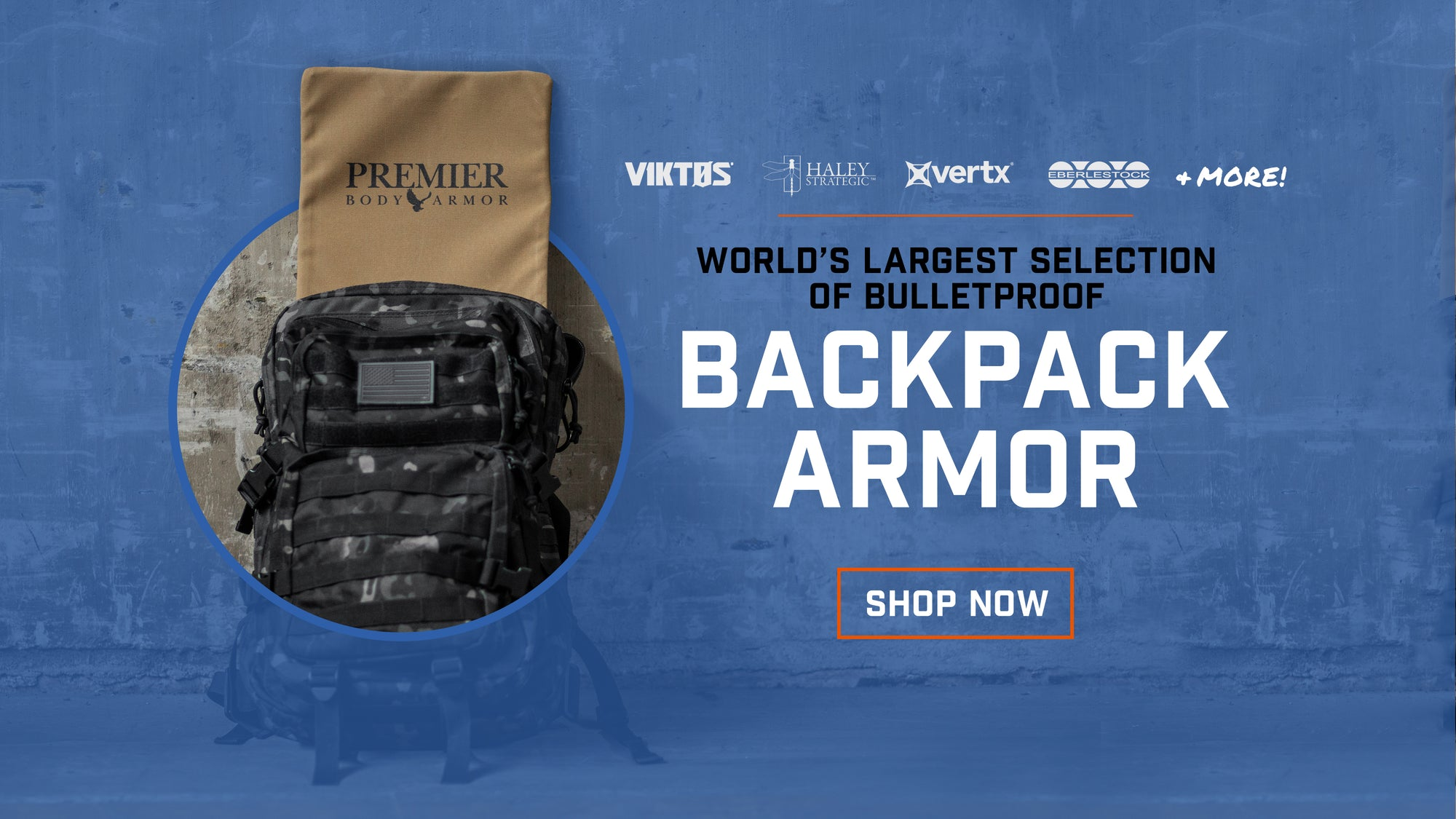 Shop the largest selection of backpack armor. We offer tailored fit soft level IIIA backpack panels for many brands like vertx, eberlestock, nike, adidas, etc. We also have Level III hard armor designed to fit in backpacks.