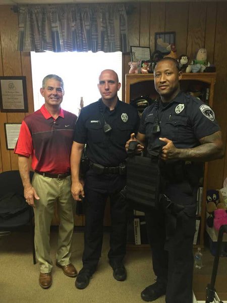 Premier Body Armor Protects Shelby Police Department