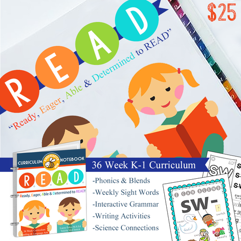Learn to Read Curriculum