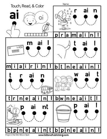 Read & Spell Vowel Teams
