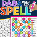 Dab & Spell Sight Words: Dolch 220