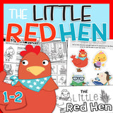 The Little Red Hen Literacy Pack