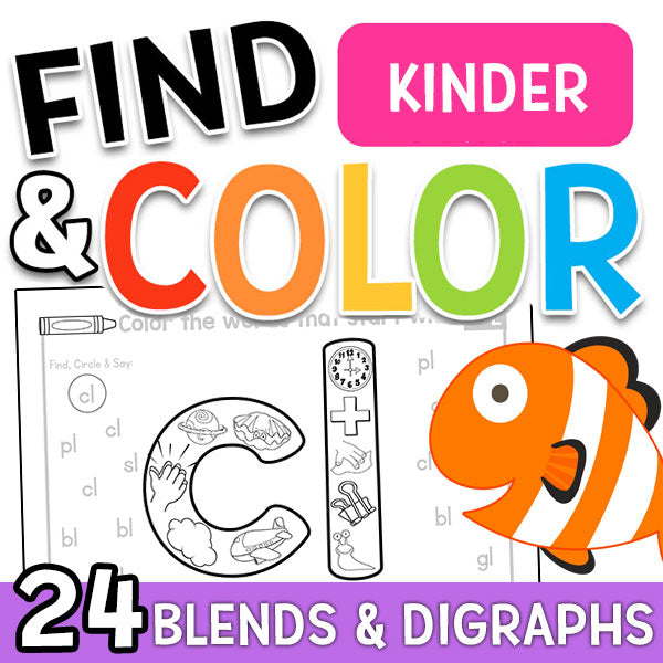 Find & Color Blends