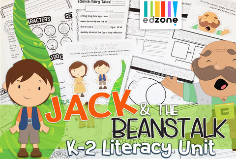 Jack & The Beanstalk Literacy Pack