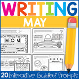 Kindergarten Writing Prompts: A Year of Interactive Guided Writing