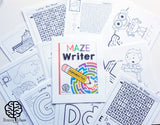 Maze Writing Handwriting Program