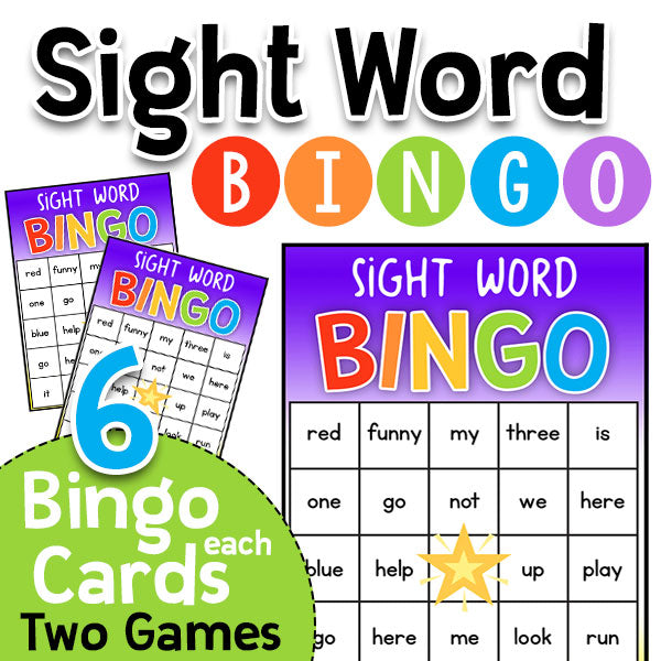 Sight Word Bingo: Dolch 220 PrePrimer