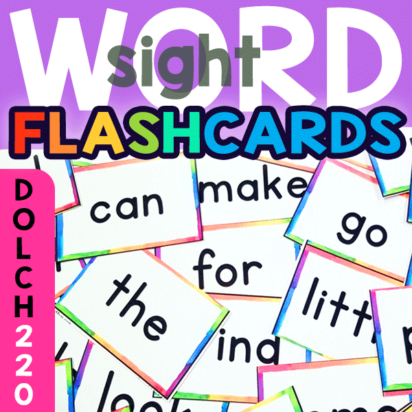 Sight Word Flashcards: Dolch 220 – EdZonePub