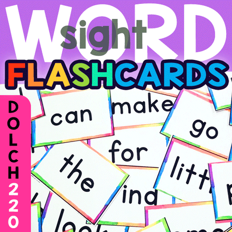 Sight Word Flashcards: Dolch 220