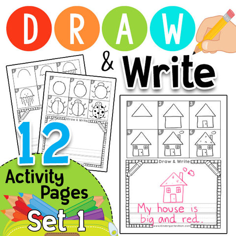 Draw & Write: Directed Drawing Set 1