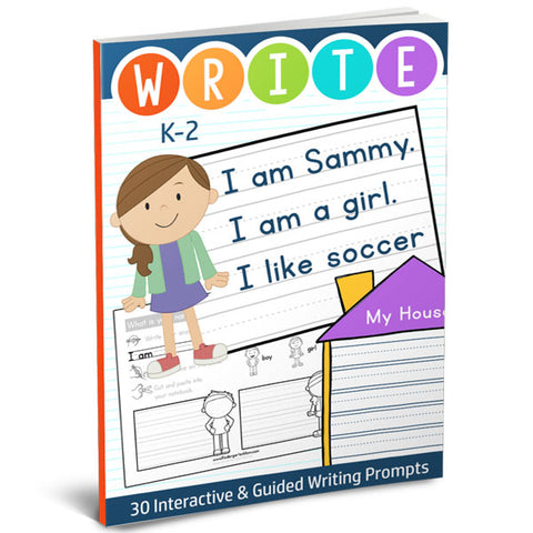 Interactive Writing Prompts: Kindergarten