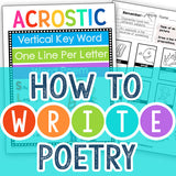 How to Write Poetry