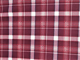 Burgundy Plaid Liverpool