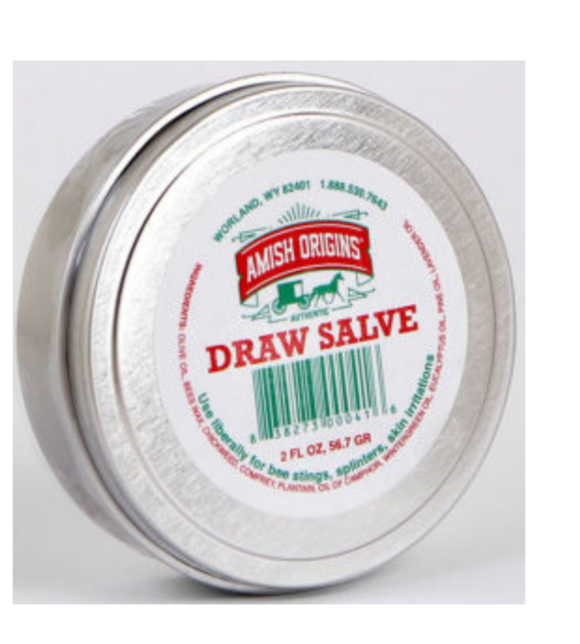 Amish Origins Draw Salve