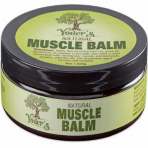 Yoder's Natural  Muscle Balm