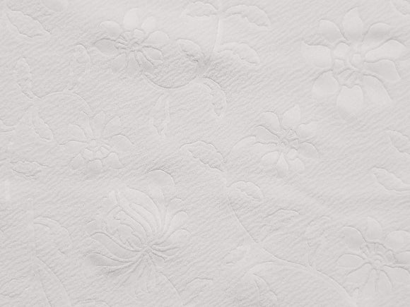 White Embossed Liverpool