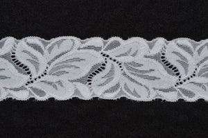 "2"" Double Scallop Lace (black or white)"