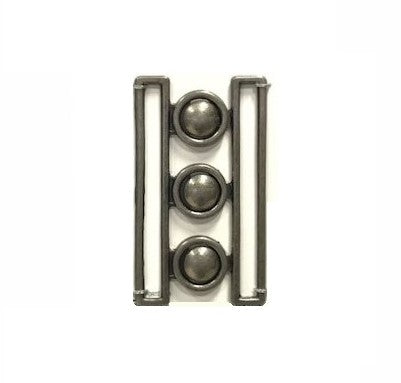 Elan Silver Cinch Belt Buckle