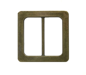 Square Brass Buckle
