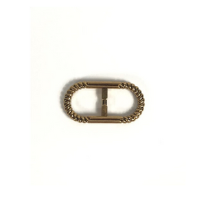 Gold Rope Buckle