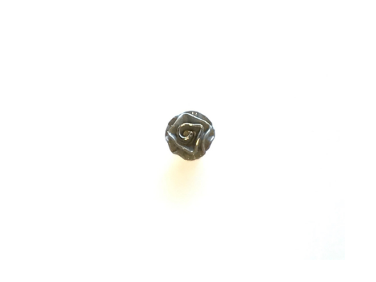 Metal Rose Buttons
