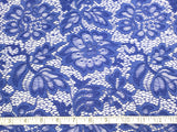 Royal Blue Stretch Lace