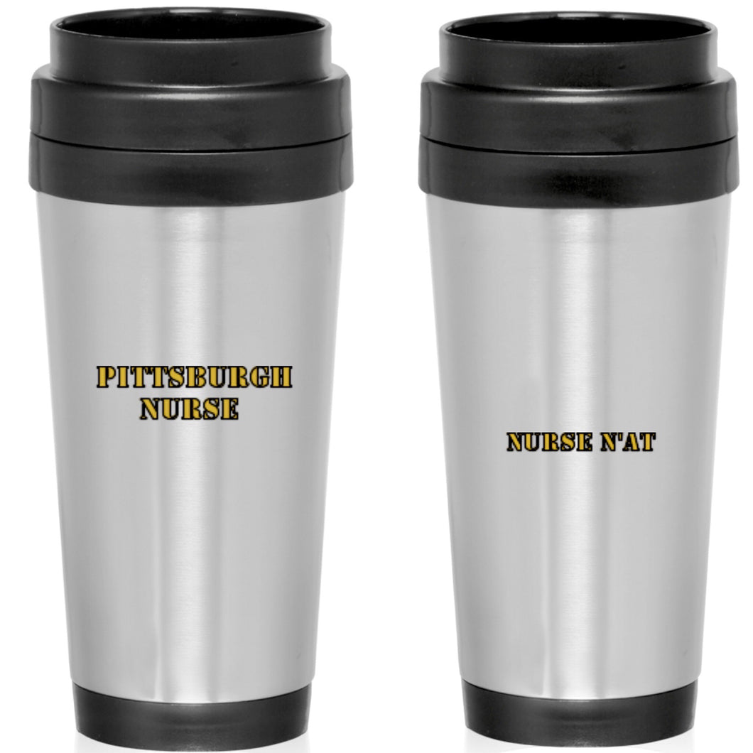 Pittsburgh Nurse Travel Mug