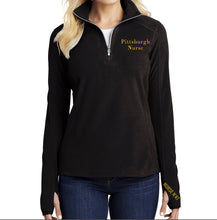 Pittsburgh Nurse Women's Microfleece 1/2 Zip Pullover