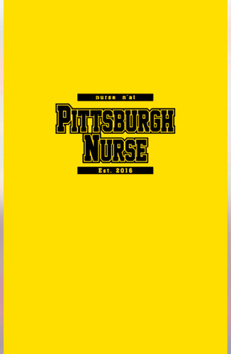 Pittsburgh Nurse Beach Towel
