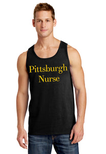 Men's Pittsburgh Nurse Tank Top
