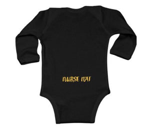 My Mom is a Pittsburgh Nurse Long Sleeve Infant Onsie