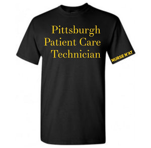 Unisex Pittsburgh Patient Care Technician T-Shirt