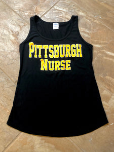 Women's Pittsburgh Nurse Tank Top
