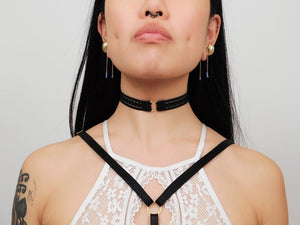 Classic Ooo Choker - Panther Daze Designs