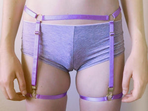 Arsenic Garter Belt Set