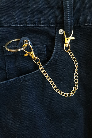 Open image in slideshow, Double-sided chain lanyard