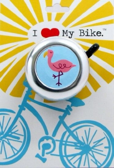 Flamingo Bike Bell