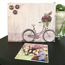 Magnetic Bicycle Photo Frame