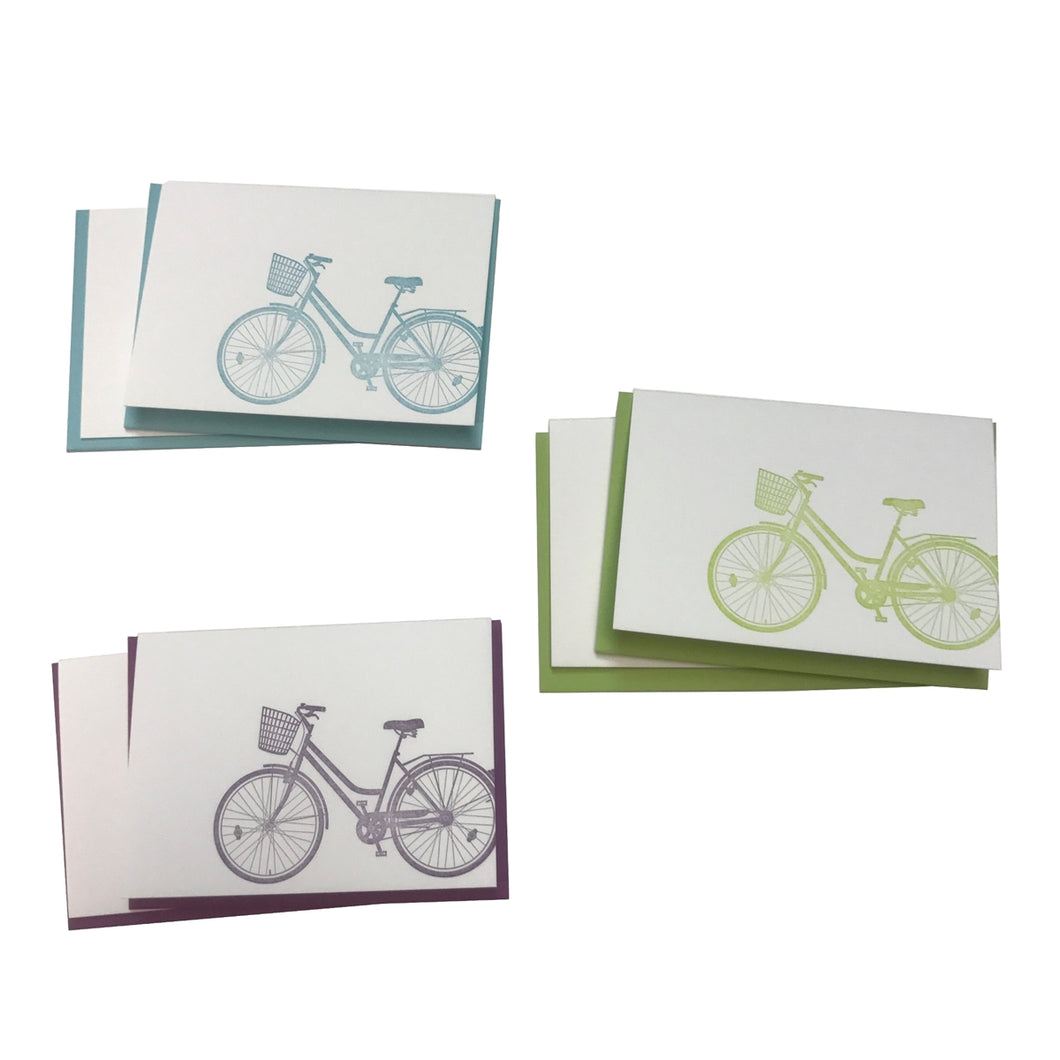 Cruiser Bikes Boxed Set of Cards (6)