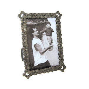 Bike Chain Photo Frame, 5 x 7
