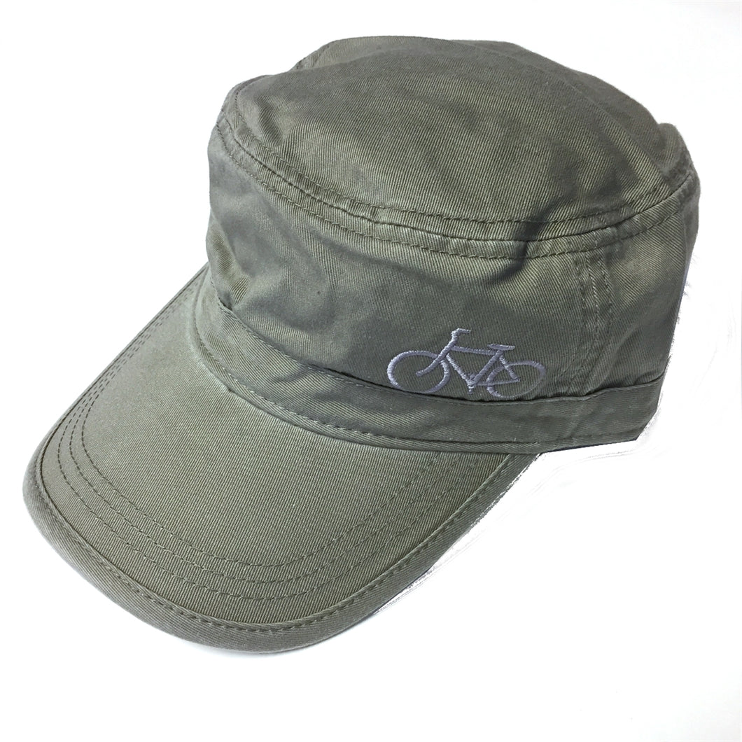Corps Hat with Bicycle Embroidery