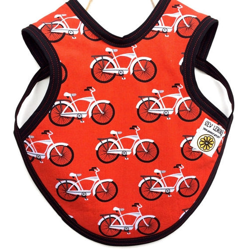 Retro Bicycle Baby Bib