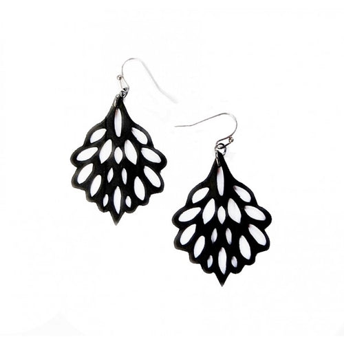 Polaris Inner Tube Bicycle Earrings