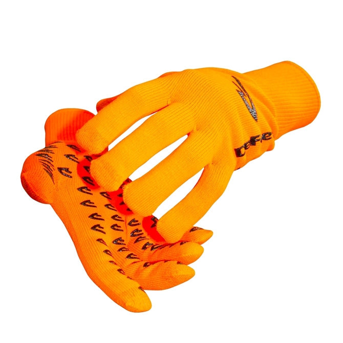 DeFeet DuraGlove ET (Electronic Touch) Hi-Vis Orange Cordura Gloves