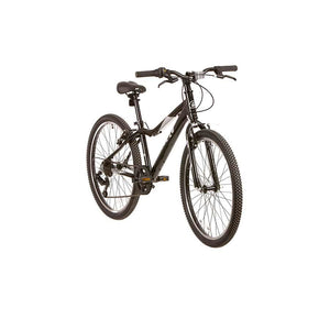 Evo Rock Ridge 24-inch 7-Speed Kid's Bike, Monster Black