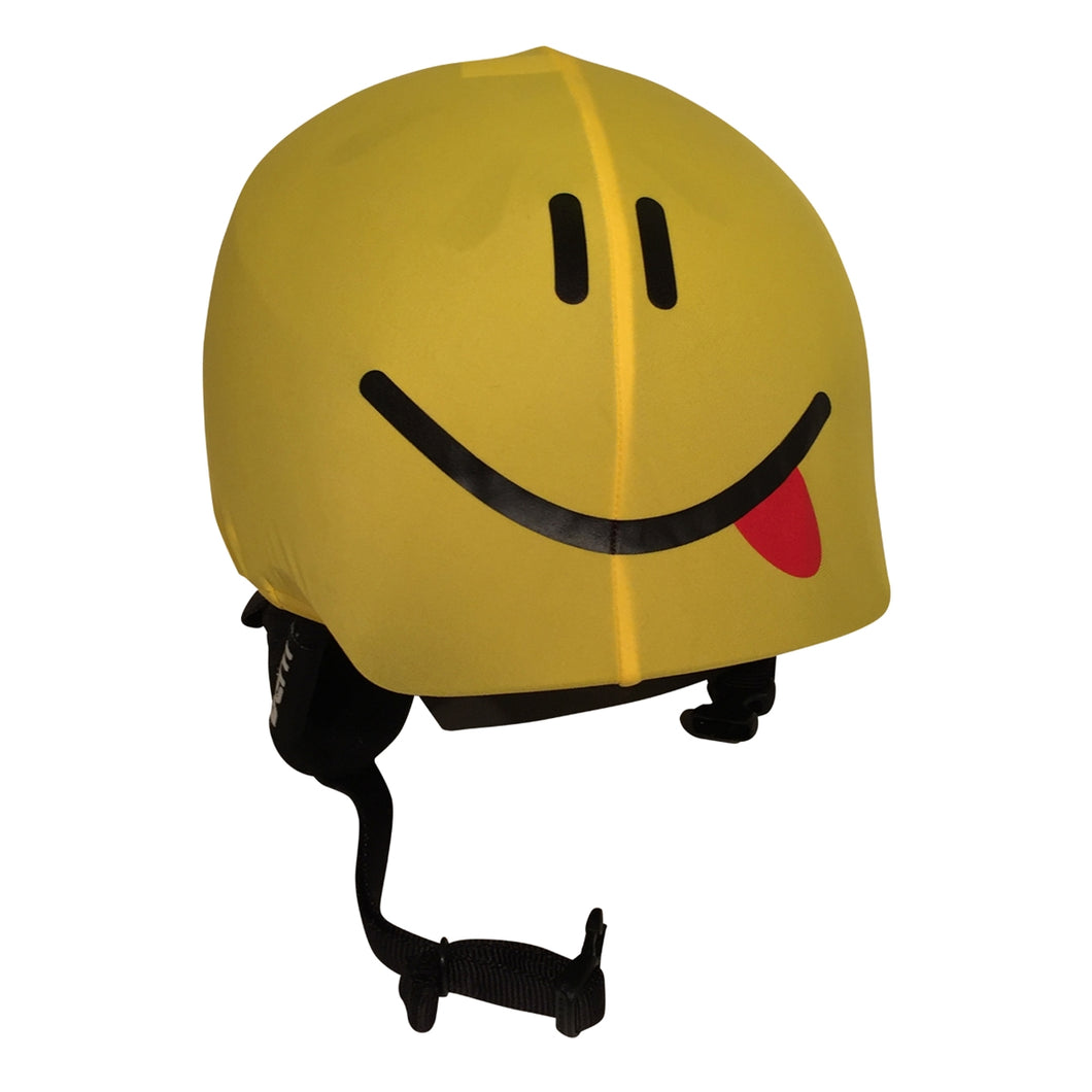Smiley Helmet Cover