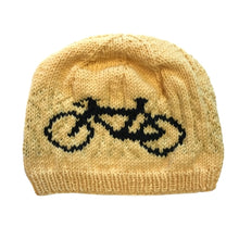 Hand-Knit Bike Hat, Medium